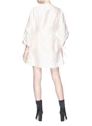 Figure View - Click To Enlarge - Elissa McGowan - 'Aziza' cocoon sleeve mini wrap dress