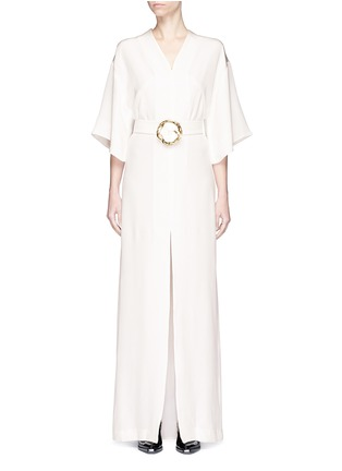 Main View - Click To Enlarge - Elissa McGowan - 'Paradiso' belted kimono maxi dress
