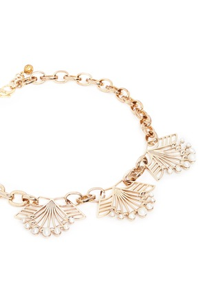 Detail View - Click To Enlarge - Lulu Frost - 'Alesia' freshwater pearl floral chain necklace