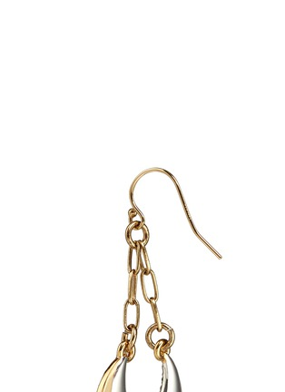 Detail View - Click To Enlarge - Lulu Frost - 'Laumière' glass crystal gemstone drop earrings