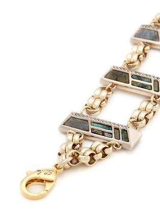 Detail View - Click To Enlarge - LULU FROST - 'Chatelet' mix gemstone ladder bracelet