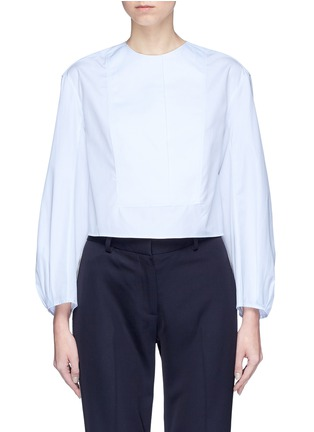Main View - Click To Enlarge - KHAITE - 'Dorothy' cocoon sleeve shirt top