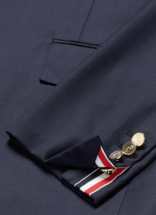 - Thom Browne - Anchor button wool blazer