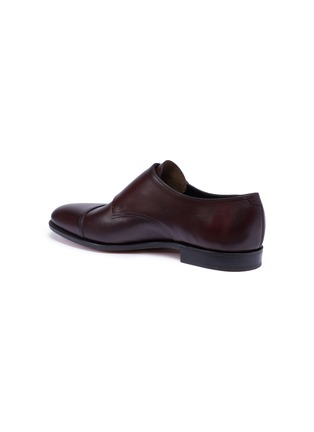 Detail View - Click To Enlarge - JOHN LOBB - 'William' double monk strap leather loafers