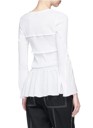 Back View - Click To Enlarge - 3.1 Phillip Lim - Smocked ruffle top