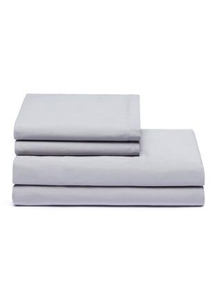 Main View - Click To Enlarge - LANE CRAWFORD - Organic cotton king size duvet set – Grey