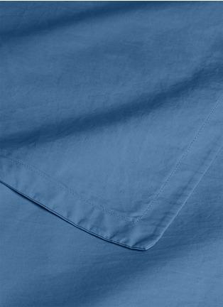 Detail View - Click To Enlarge - LANE CRAWFORD - Organic cotton king size duvet set –Blue
