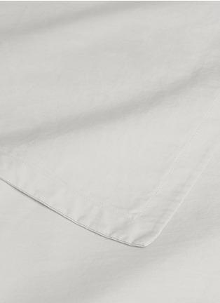 Detail View - Click To Enlarge - LANE CRAWFORD - ORGANIC COTTON QUEEN SIZE DUVET SET – WHITE