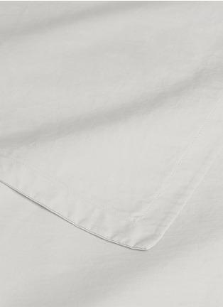 Detail View - Click To Enlarge - LANE CRAWFORD - Organic cotton king size duvet set –White