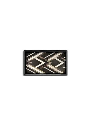 - L'OBJET - Deco Noir small tray