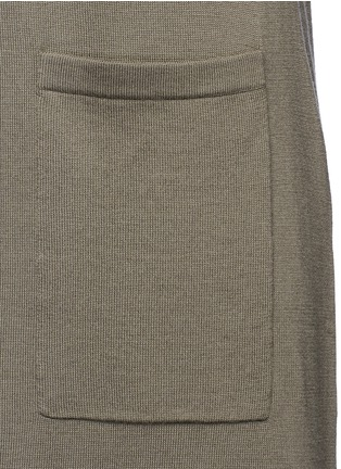 Detail View - Click To Enlarge - Theory - 'Torina SL' long wool cardigan