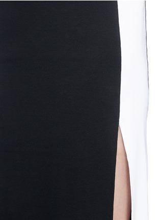 Detail View - Click To Enlarge - RAG & BONE - 'Sam' sport side stripe jersey dress