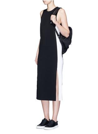 Figure View - Click To Enlarge - RAG & BONE - 'Sam' sport side stripe jersey dress