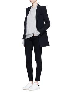 L'Agence 'The Chantal' skinny ankle grazer pants