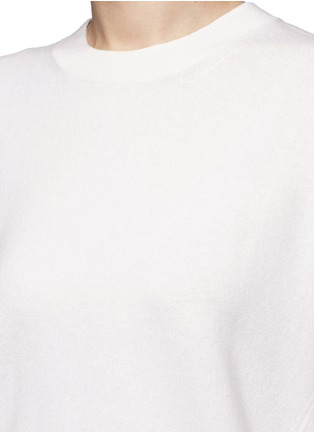 Detail View - Click To Enlarge - Vince - Three-quarter sleeve cashmere sweater