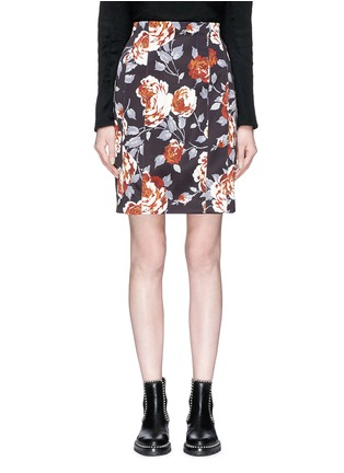 Main View - Click To Enlarge - Theory - Floral print pencil skirt