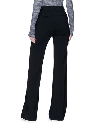 Back View - Click To Enlarge - Theory - 'Demitria' flared crepe pants