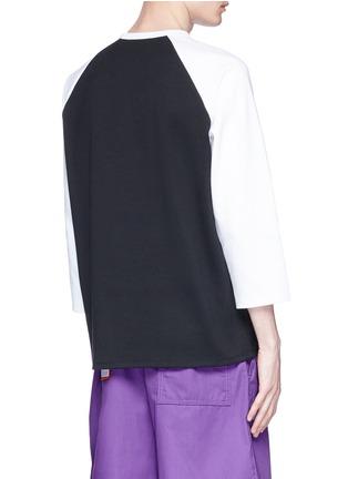 - Acne Studios - 'Noise' key print unisex long sleeve T-shirt