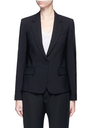 Main View - Click To Enlarge - Theory - 'Gabe N' single button wool blazer