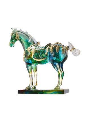 Main View - Click To Enlarge - TITTOT - Tricolour Horse of Tang Dynasty sculpture