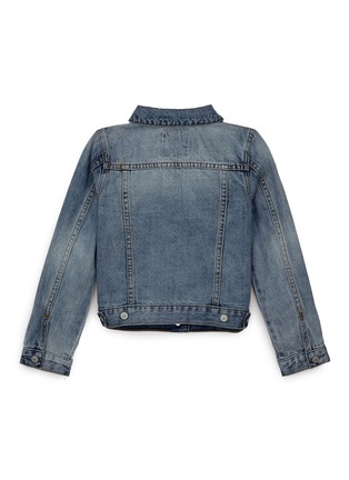 Figure View - Click To Enlarge - Little Starters x Lane Crawford - Star embroidered kids denim jacket