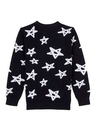 Figure View - Click To Enlarge - Little Starters x Lane Crawford - Star intarsia knit kids sweater