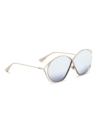 Figure View - Click To Enlarge - Dior - 'Dior Stellaire 2' metal round sunglasses