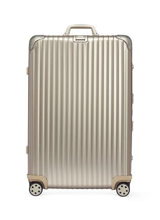 Main View - Click To Enlarge - RIMOWA - Topas Titanium Multiwheel® (Titanium, 85-litre)