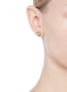 Kenneth Jay Lane Ball stud earrings