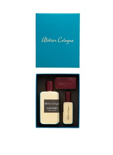 Atelier Cologne ATELIER COLOGNE CHRISTMAS EDITION - COLOGNE ABSOLUE GOLD LEATHER SET