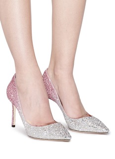 Jimmy Choo 'Romy 85' dégradé glitter pumps
