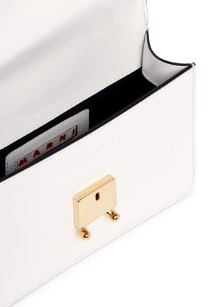 - Marni - 'Trunk' calfskin leather micro shoulder bag