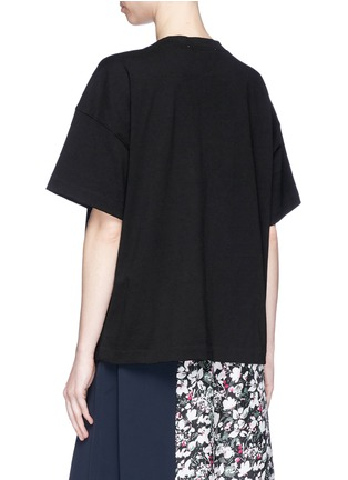 Back View - Click To Enlarge - Acne Studios - 'Stellie' logo print oversized T-shirt