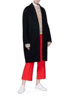 Acne Studios 'Avalon' wool-cashmere melton coat