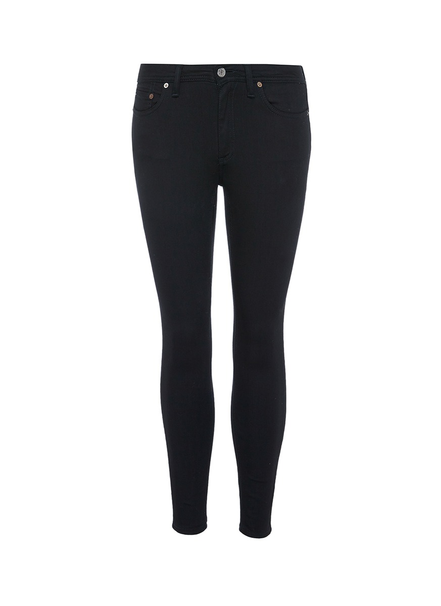 Cropped skinny jeans by Acne Studios