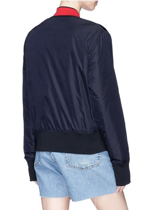 Back View - Click To Enlarge - Acne Studios - 'Mills Face' reversible bomber jacket