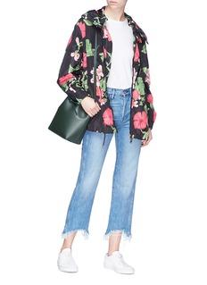 Moncler 'Jade' floral print hooded parka