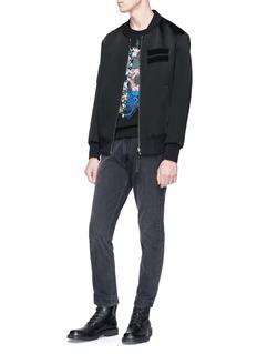 Alexander McQueen Patchwork skull print sweatshirt