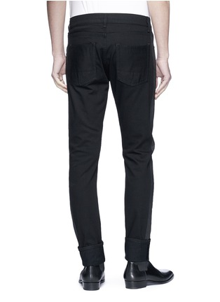 Back View - Click To Enlarge - ALEXANDER MCQUEEN - Slim fit jeans