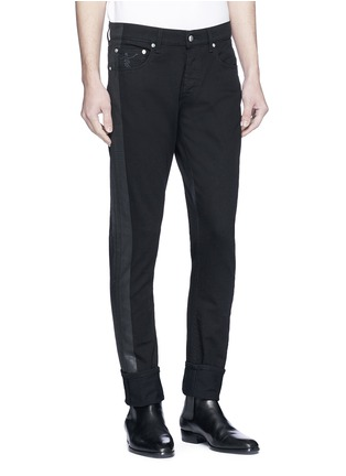 Front View - Click To Enlarge - ALEXANDER MCQUEEN - Slim fit jeans