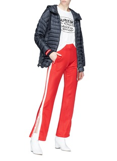 Moncler Stripe outseam track pants