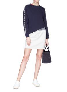 Moncler Logo tape sleeve sweatshirt