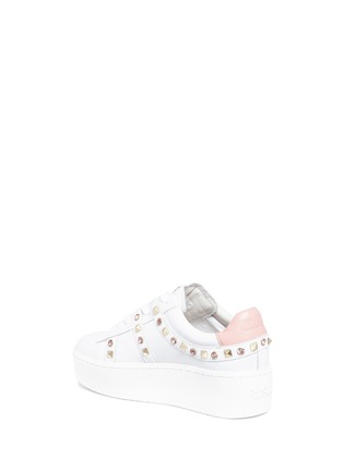 Detail View - Click To Enlarge - Ash - 'Clone' strass stud leather platform sneakers