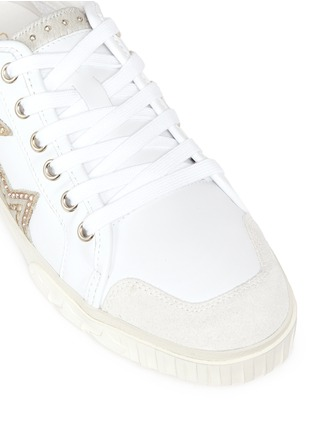 Detail View - Click To Enlarge - Ash - 'Magic' star patch leather sneakers