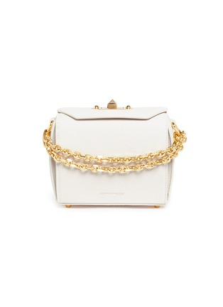 Main View - Click To Enlarge - ALEXANDER MCQUEEN - 'Box Bag 16' in goatskin leather