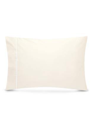Main View - Click To Enlarge - LANE CRAWFORD - Contrast border pillowcase set –Ivory