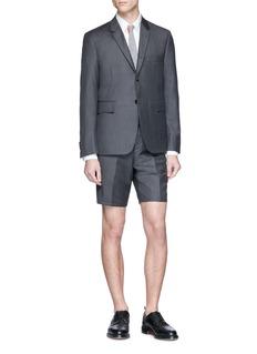 Thom Browne Wool twill shorts