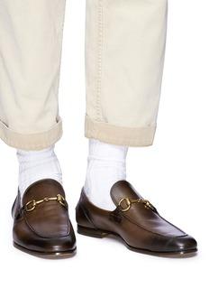 Gucci 'Jordaan' horsebit leather loafers