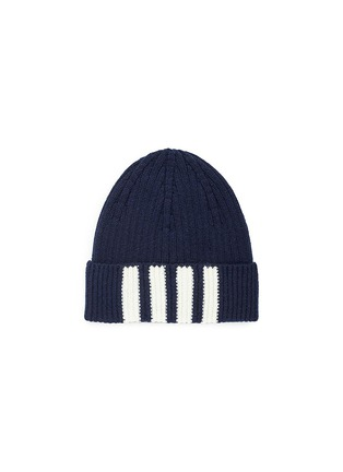 Main View - Click To Enlarge - THOM BROWNE - Stripe cashmere beanie