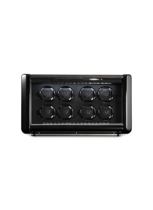 Main View - Click To Enlarge - BUBEN&ZÖRWEG - Spirit 8 TIME MOVER® watch winder – Carbon